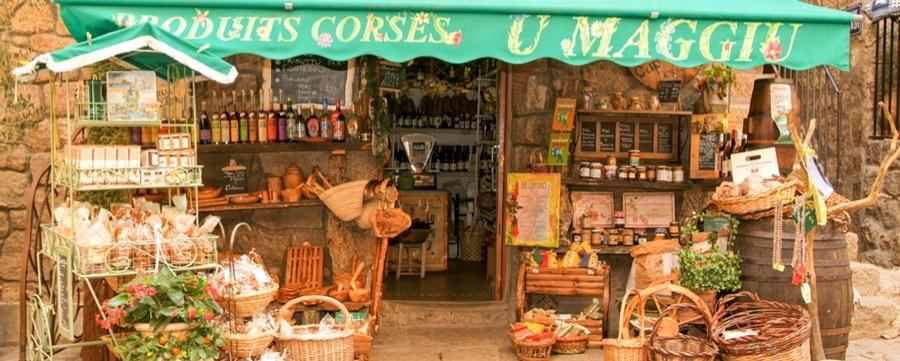 Mat och dryck på Korsika